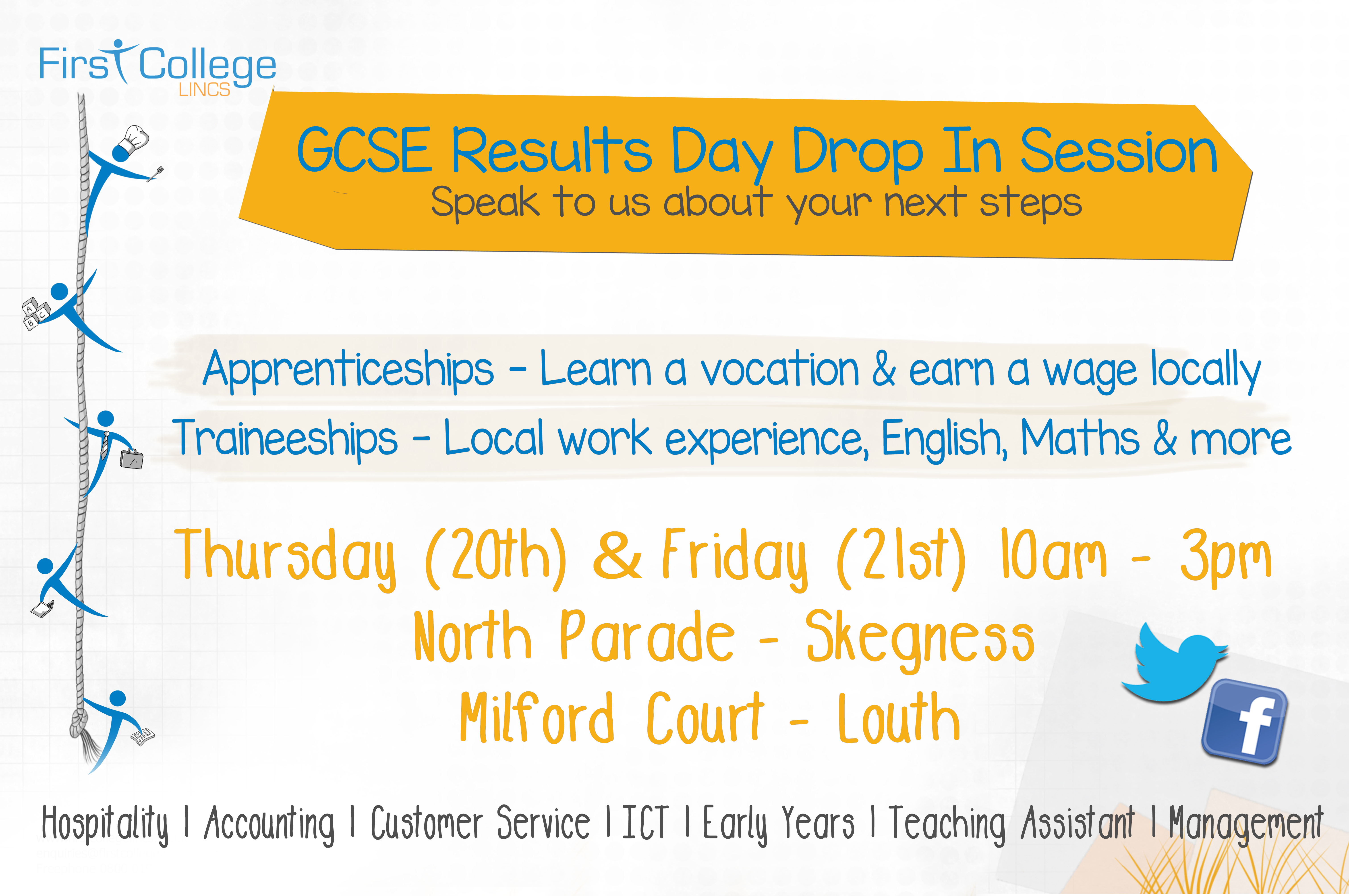 GCSE Drop in Day Banner Final