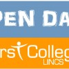 First College Open Day Banner